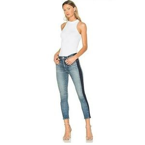 Citizens Of Humanity Two Toned Rocket Crop High Rise Skinny Jeans 26